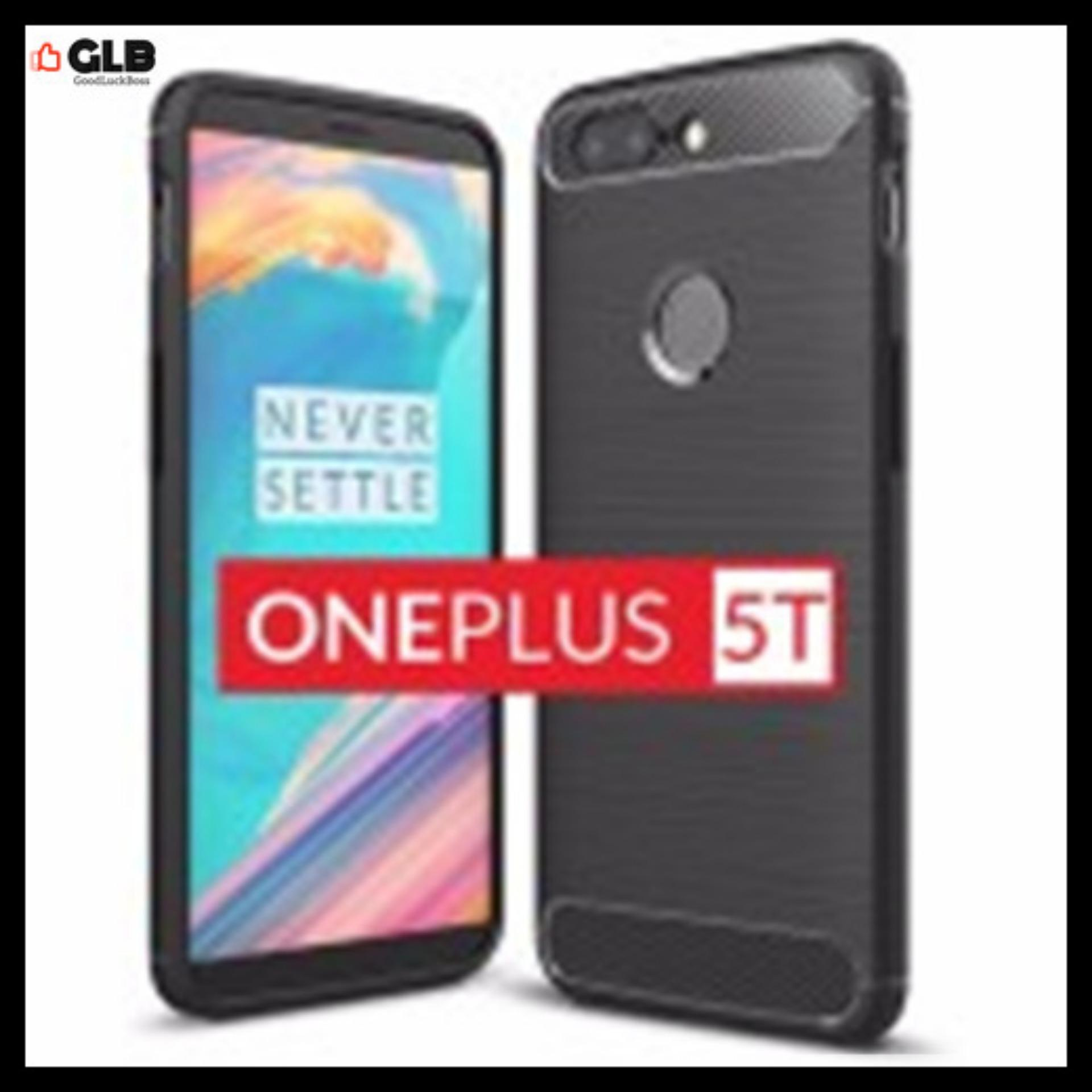 Great Deal 3X Oneplus 5T Back Case Rugged Series Soft Case Black