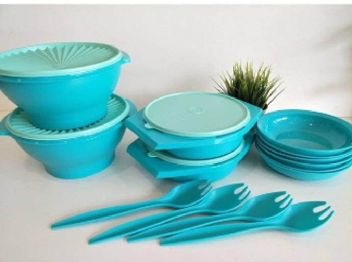 How To Get Tupperware Joy Keeper Full Set 10Pcs 4Forks