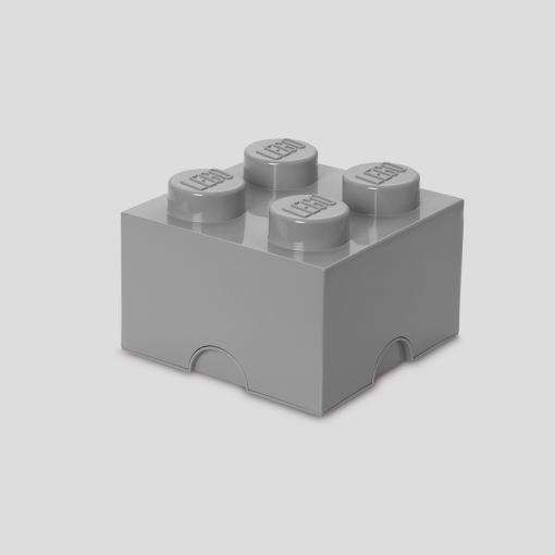 LEGO Storage Brick 4 (Grey)