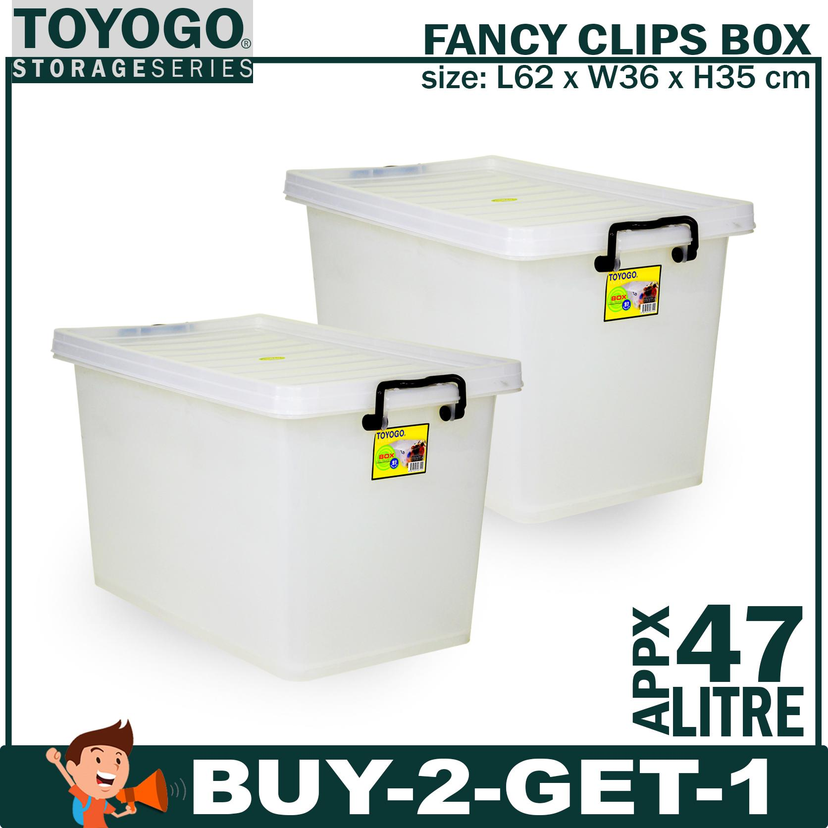 Where Can I Buy Buy 2 Get 1 W Free Gift 9710 Toyogo Fancy Clips Box Household Storage