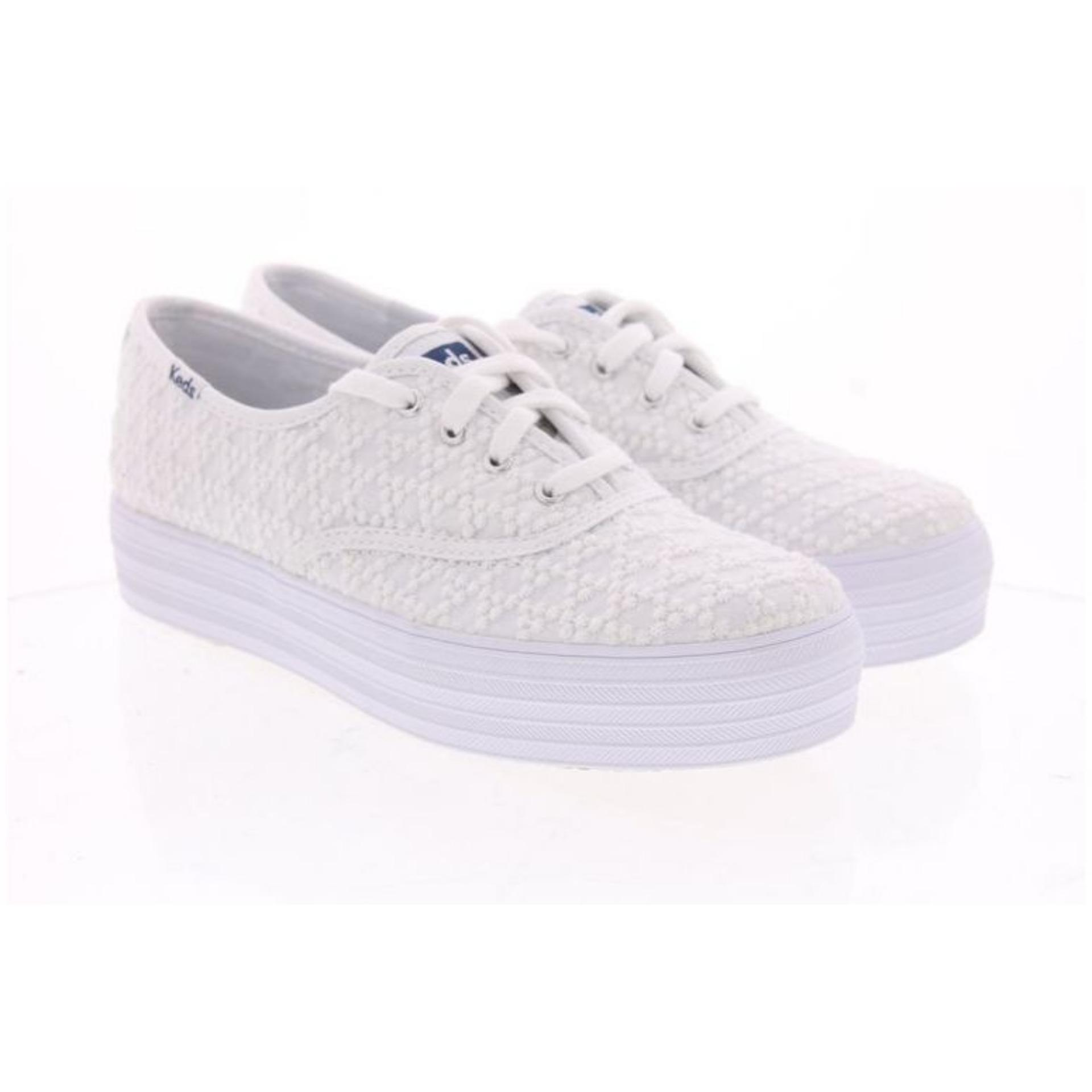 Keds Triple Embroidered Triangle Sneakers Wf58032 Discount Code