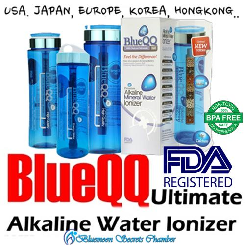 Shop For Blueqq Portable Alkaline Mineral Water Ionizer Bottle 500Ml 700Ml 1000Ml Cartridge