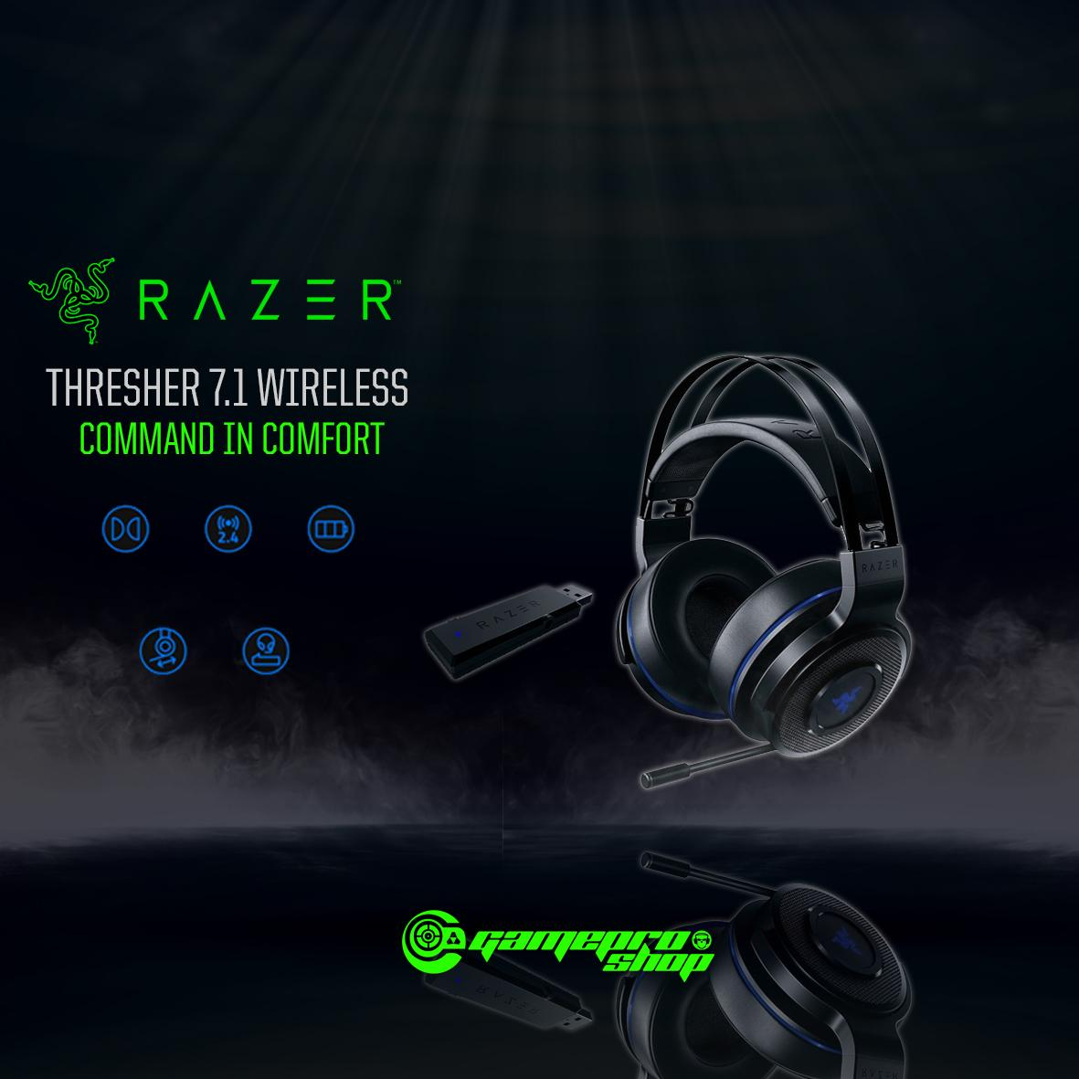 Razer Thresher 7.1 - Playstation 4 (PS4) Wireless Gaming Headset  *NDP PROMO*