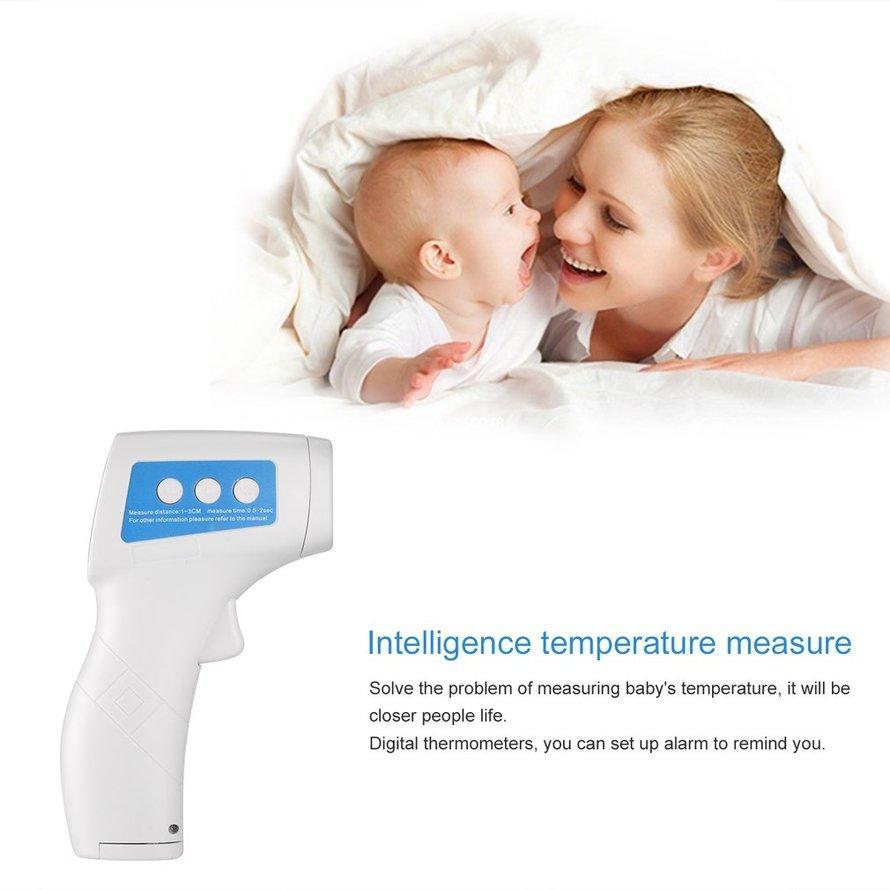 OSMAN Handheld Digital Termometer Inframerah Laser Nonkontak Suhu G * UN