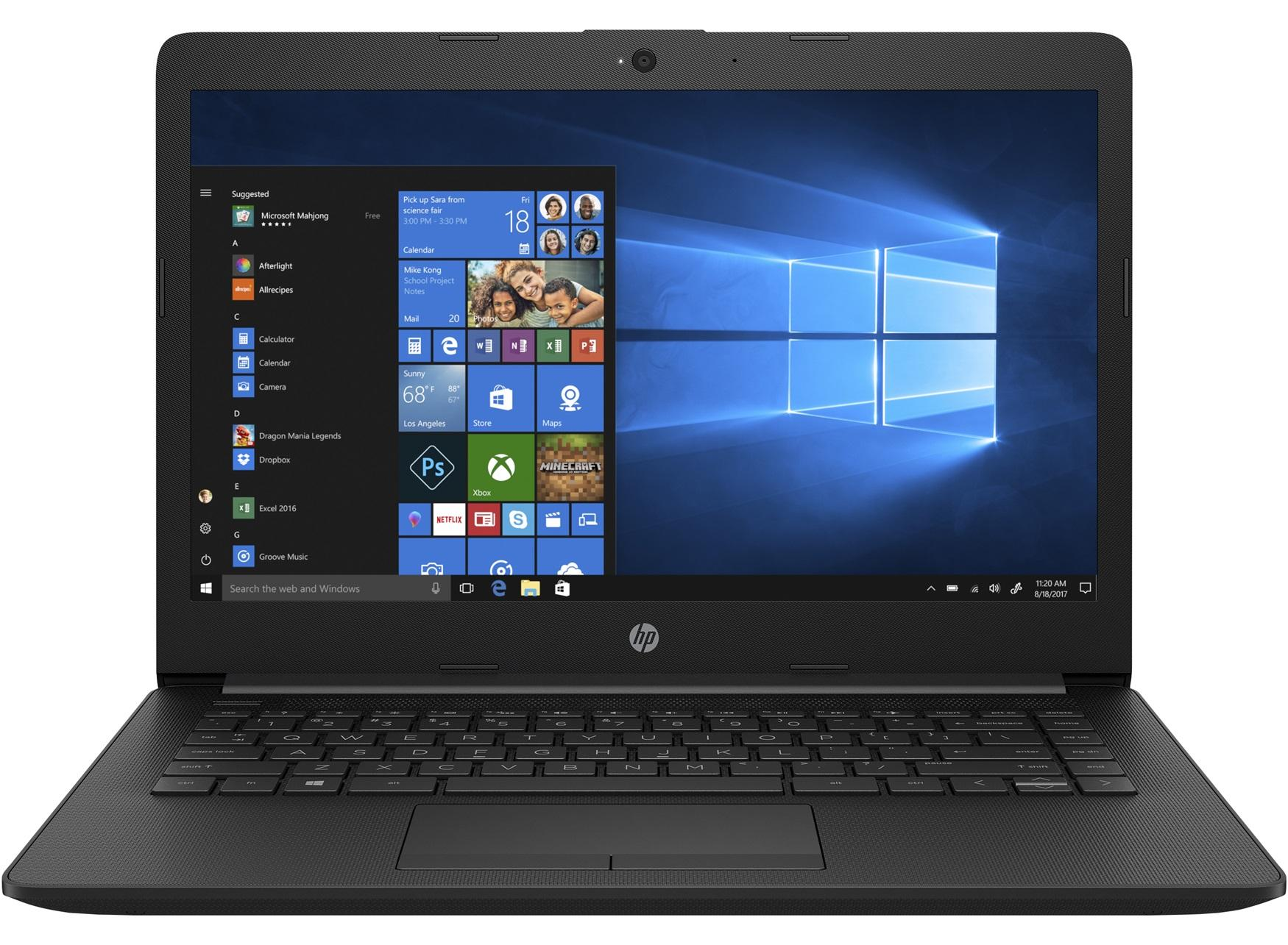 HP 14-CK0025TU (Intel Celeron N4000 Processor, 4GB RAM, Intel UMA, 1TB HDD)