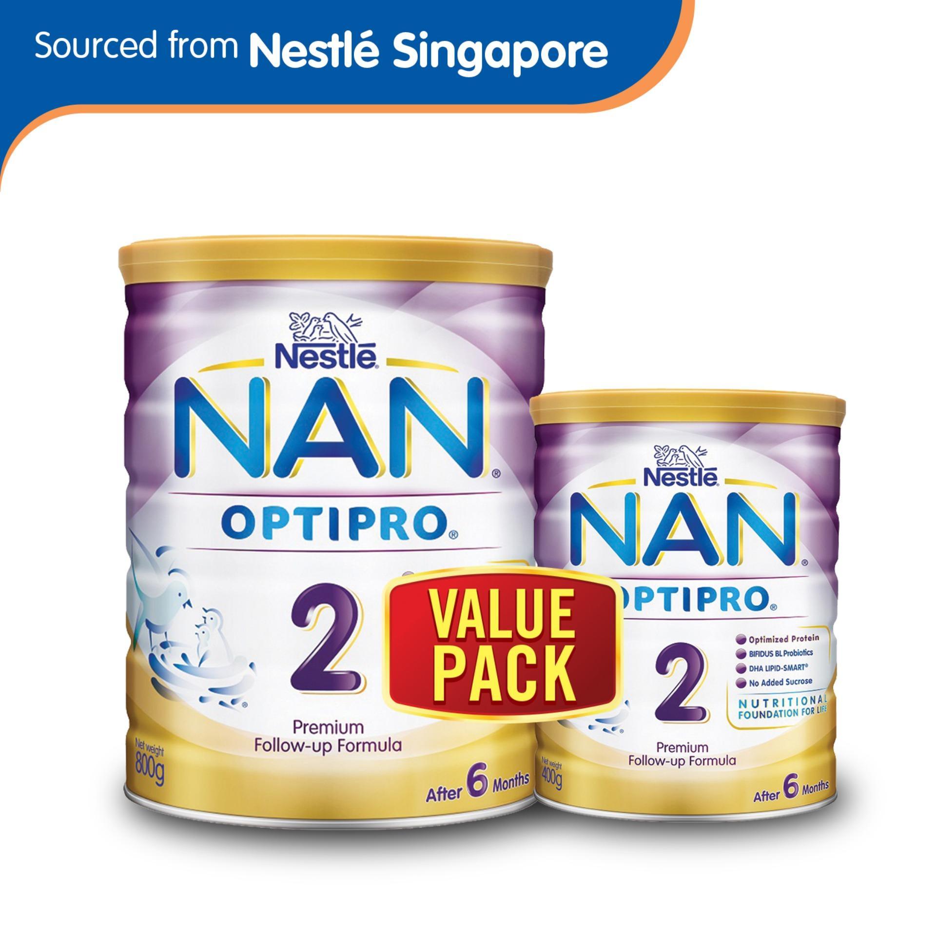 Nestlé® NAN® OPTIPRO® 2 Follow-up Formula 800g + 400g