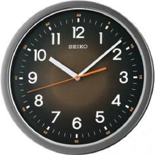NEW Seiko QXA727K QXA727KN Quiet Sweep Second Hand Wall Clock