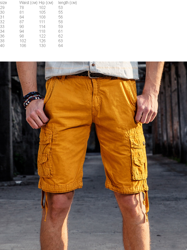 64e7f234a2 Product details of Hot Sale Summer Men's Army Work Casual Bermuda Cargo  Shorts Men Fashion Joggers Overall Military Tactical Trousers Short for Man  40