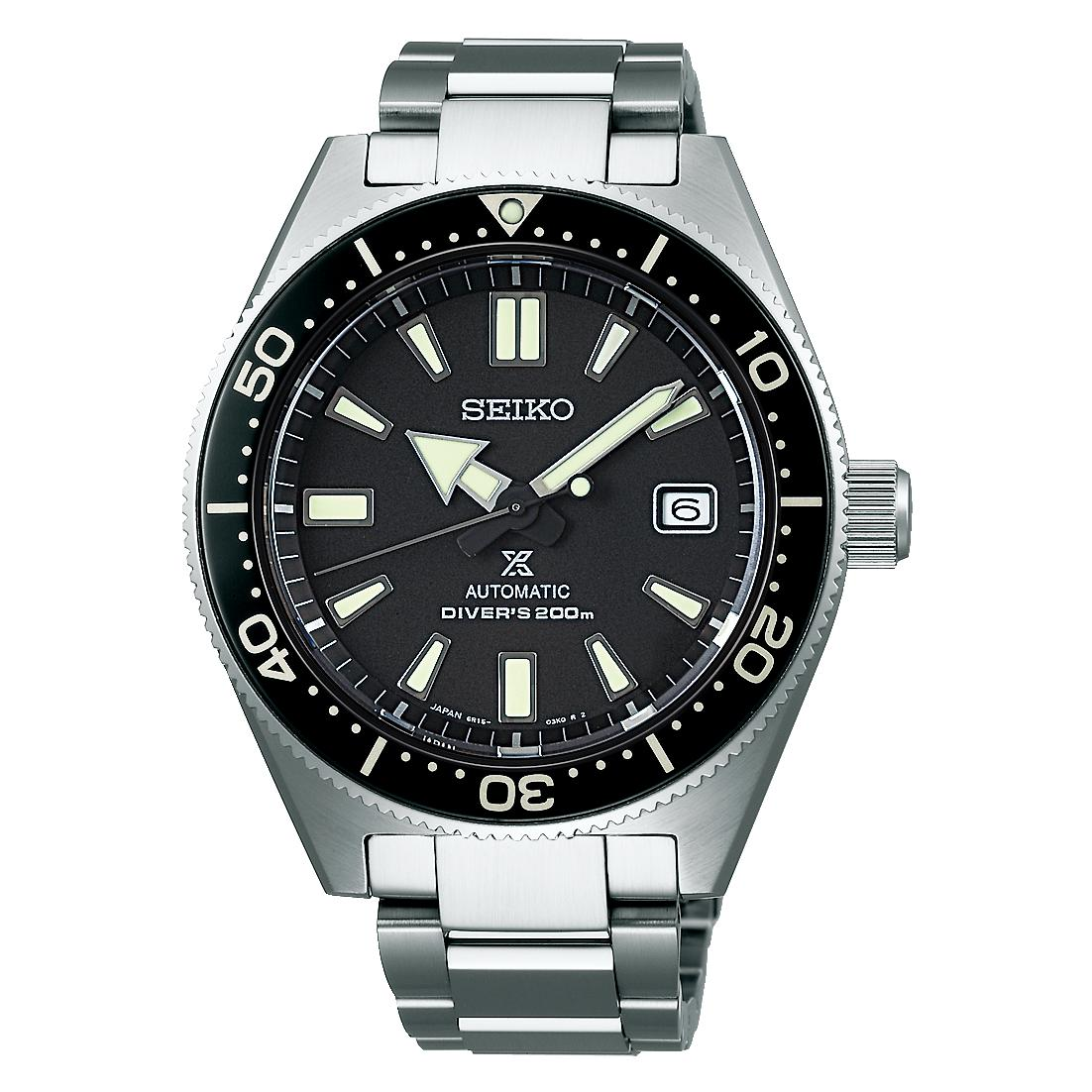 Made In Japan Brand New 100 Authentic Seiko Prospex 62Mas Relaunch Of The First Divers On 6R15 Movement Automatic Mens Diver Watch Spb051J Spb051 Sbdc051J Sbdc051 Lowest Price