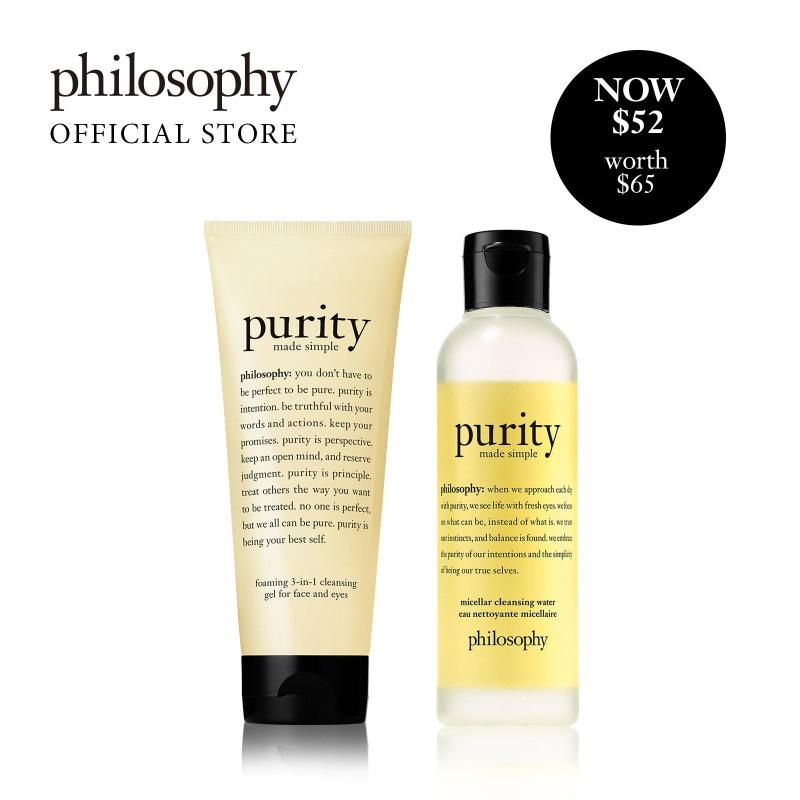 Buy Philosophy Purity Micellar Set (worth $65) Singapore