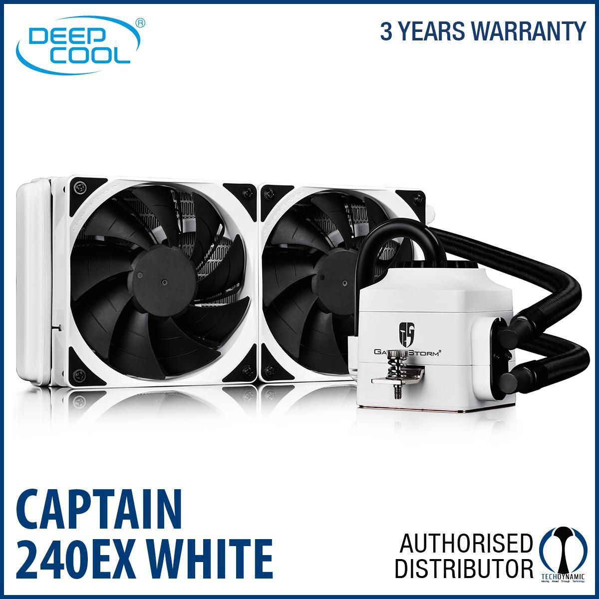 Price Deepcool Captain 240Ex White Aio Liquid Cooler 240Mm Singapore