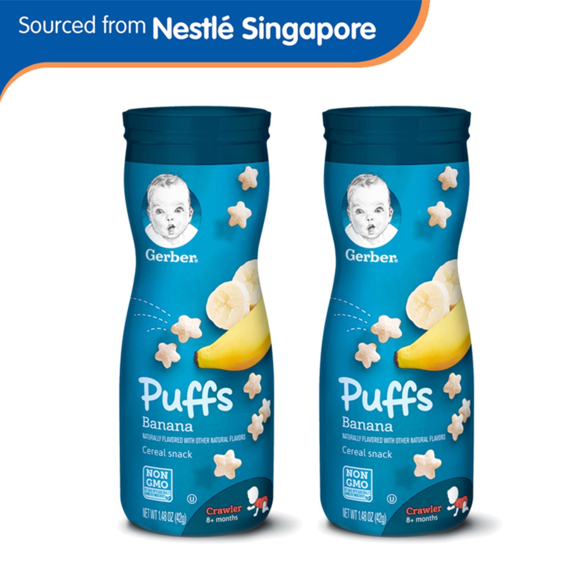 Sale Gerber® Graduates® Puffs Banana 42G X 2 Pcs On Singapore