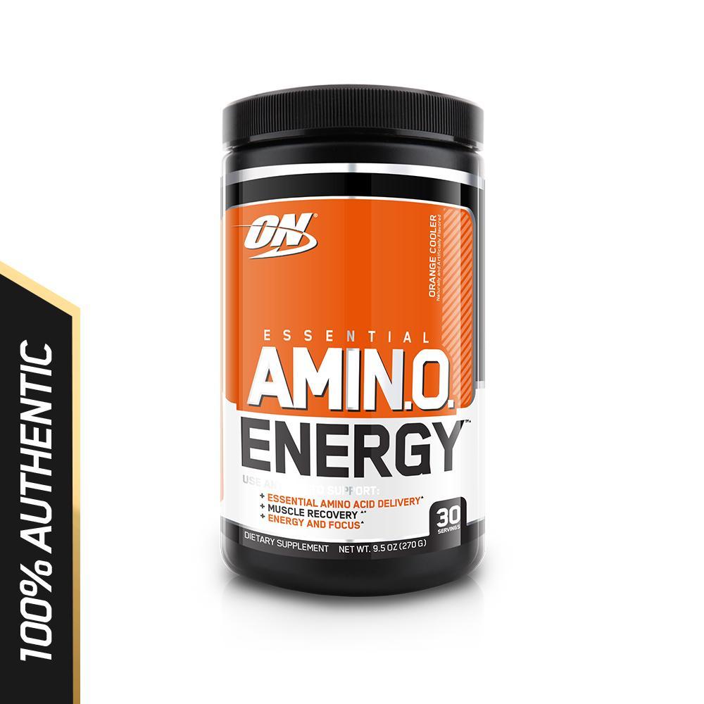 Discount Optimum Nutrition Essential Amino Energy 270G Orange