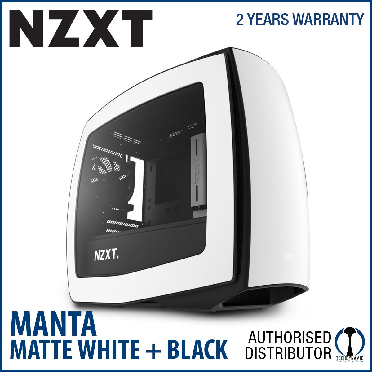 Buy Nzxt Manta Window White Black