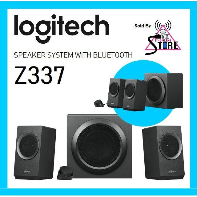 Sale Logitech Z337 Speaker System With Bluetooth Singapore Cheap