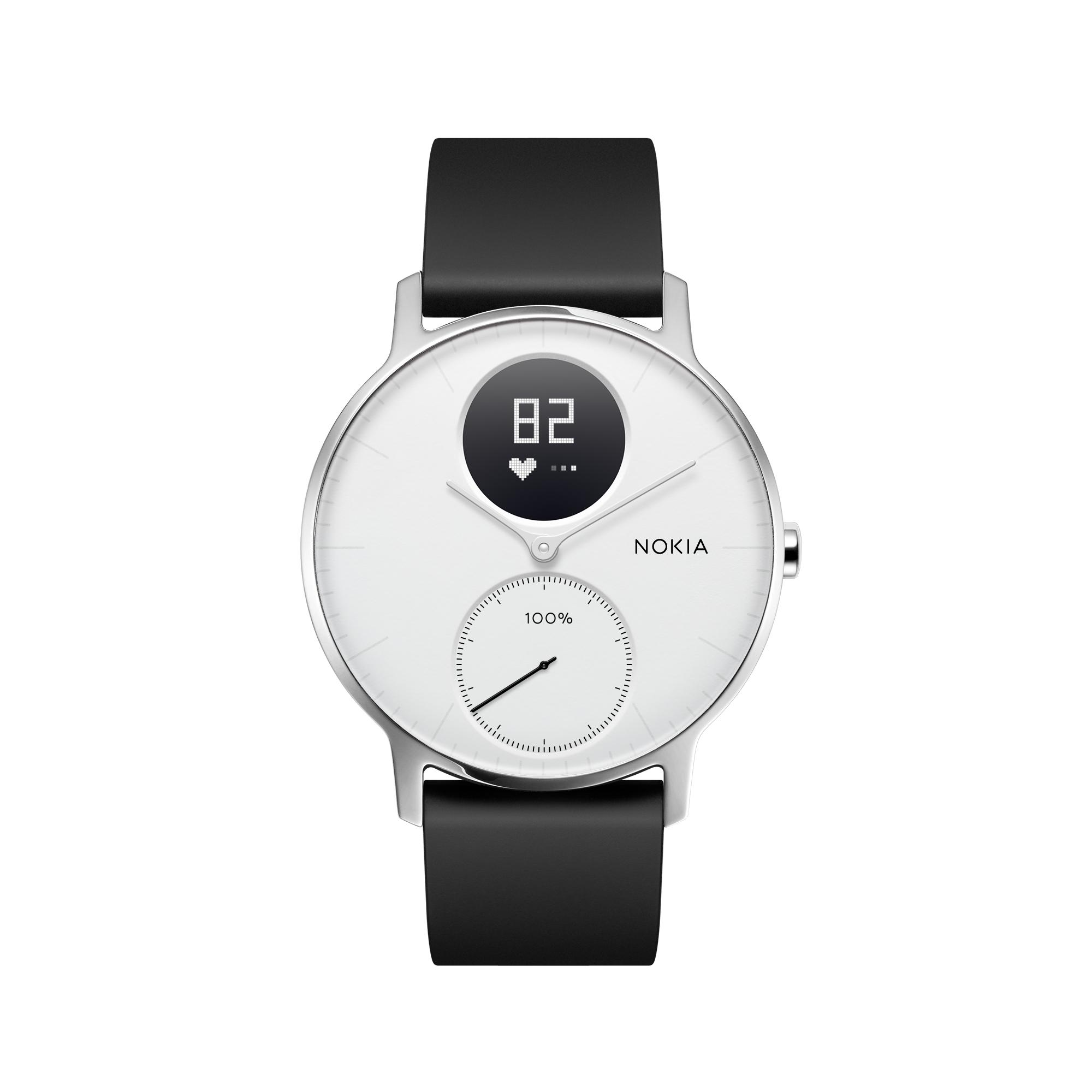 Nokia Health Steel Hr White 36Mm Best Buy