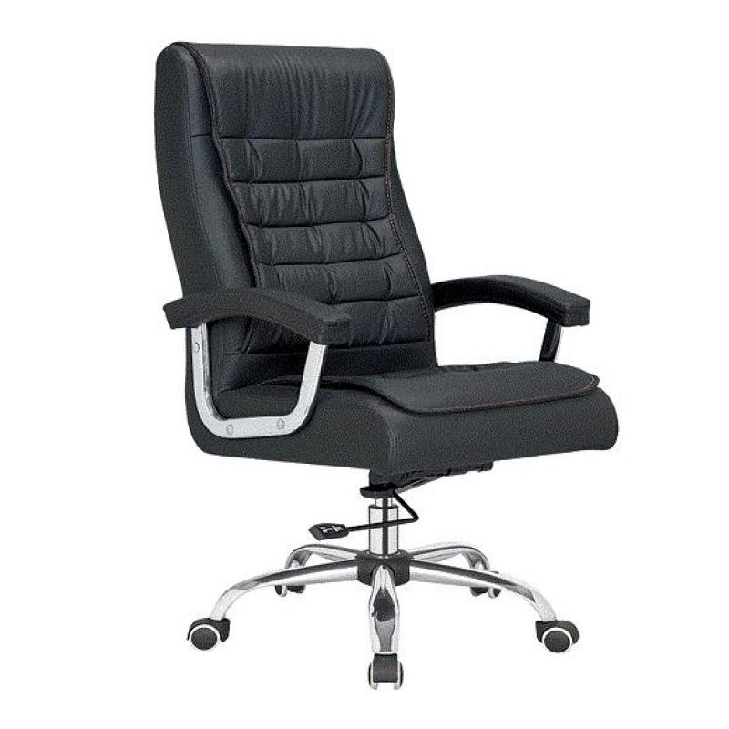 BAYCUS Leather Office Chair (PU Leather) | Manager Office Chair | Director Chair | Recliner Mechanism Singapore