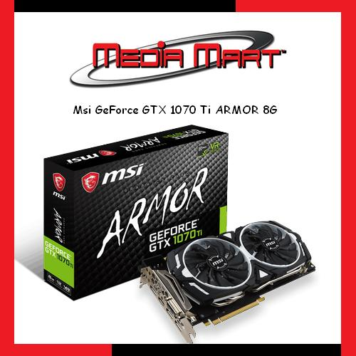 Price Comparison For Msi Geforce Gtx 1070 Ti Armor 8G