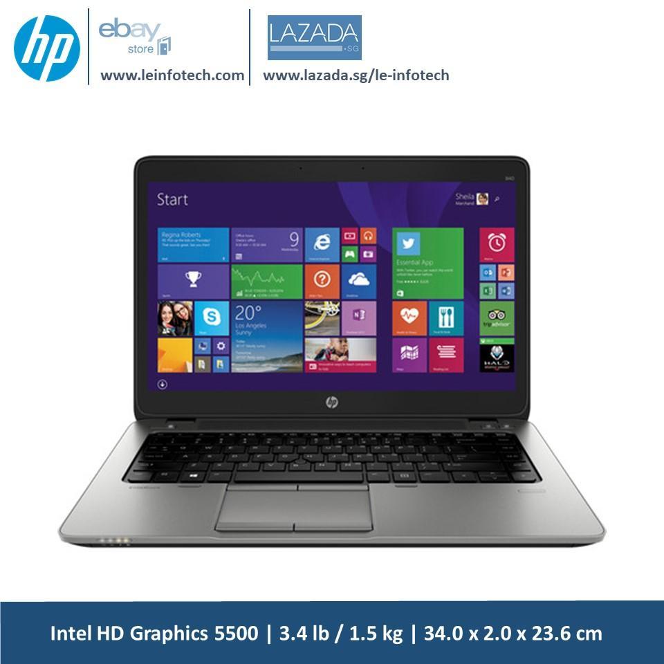 Best Price Hp Elitebook 840 G1 14 Core I5 4300U 1 9Ghz 4Th Gen 4Gb Ram 320Gb Hdd Win 10 Pro Bluetooth Webcam Used