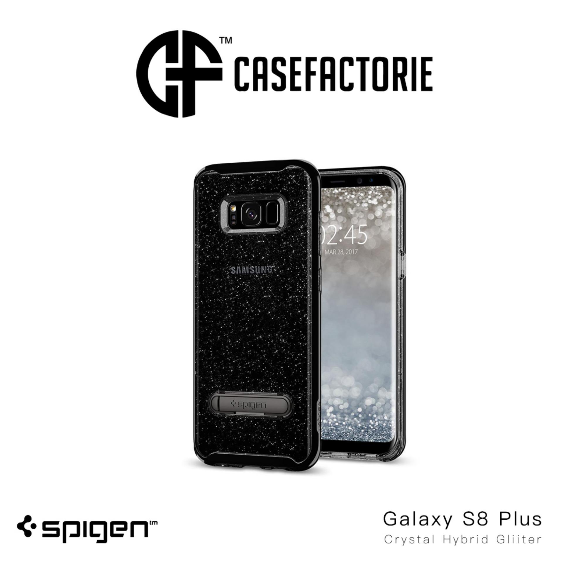Best Price Spigen Crystal Hybrid Glitter Case For Samsung Galaxy S8 Plus