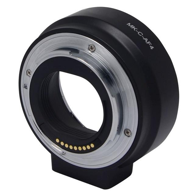Retail Price Meike C Af4 Electronic Auto Focus Adapter For Canon Eos Ef S Lens To Eos M Ef M Camera Mount