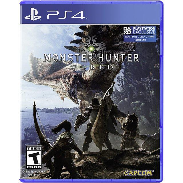 Price Ps4 Monster Hunter World Standard Edition Us R1 2102595 Ps4 Original