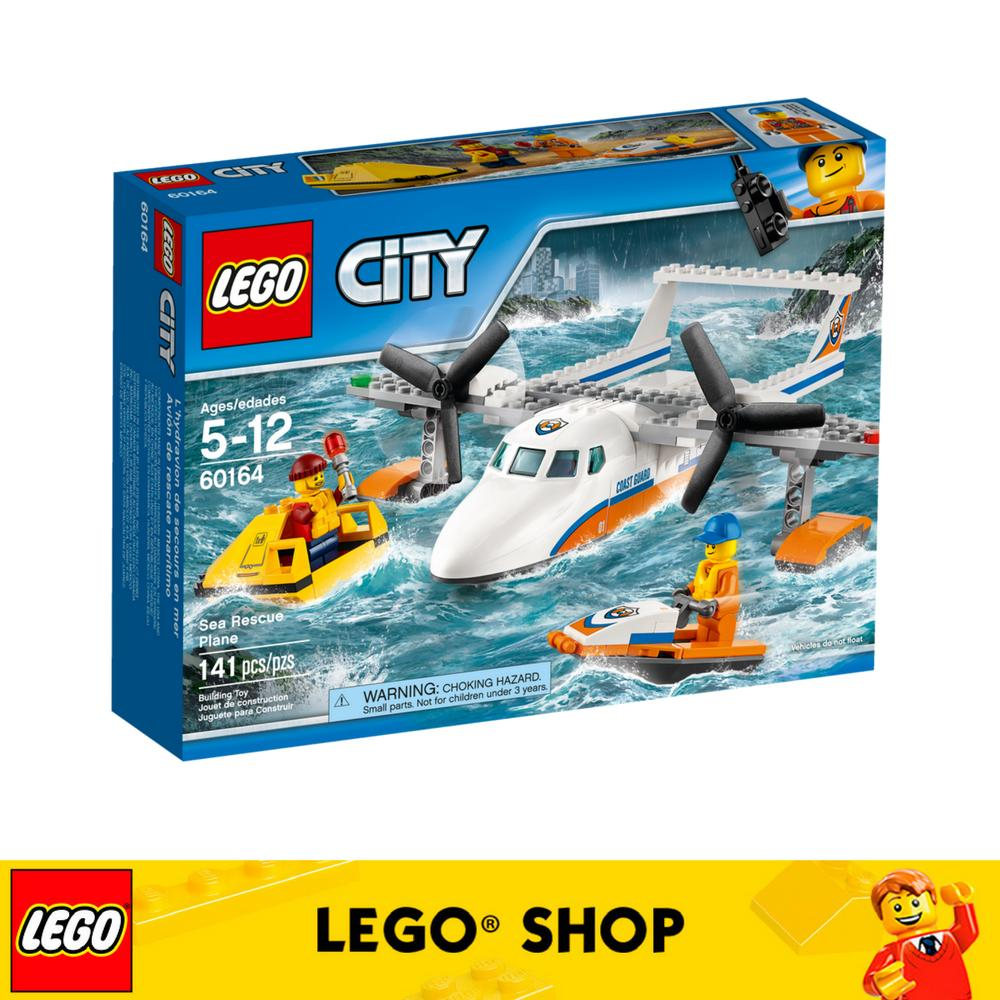 Wholesale Lego® City Coast Guard Sea Rescue Plane 60164