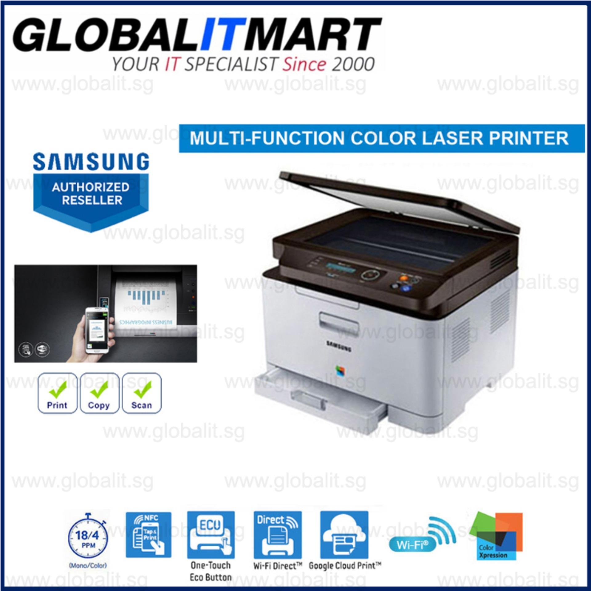 Promo Samsung C480W Colour Laser Printer