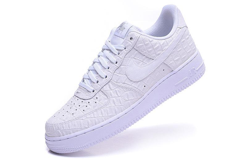 low cost fde98 d5f20 ... best price nike af1 mens air force 1 lv8 qs crocodile skin lines low  classic leather