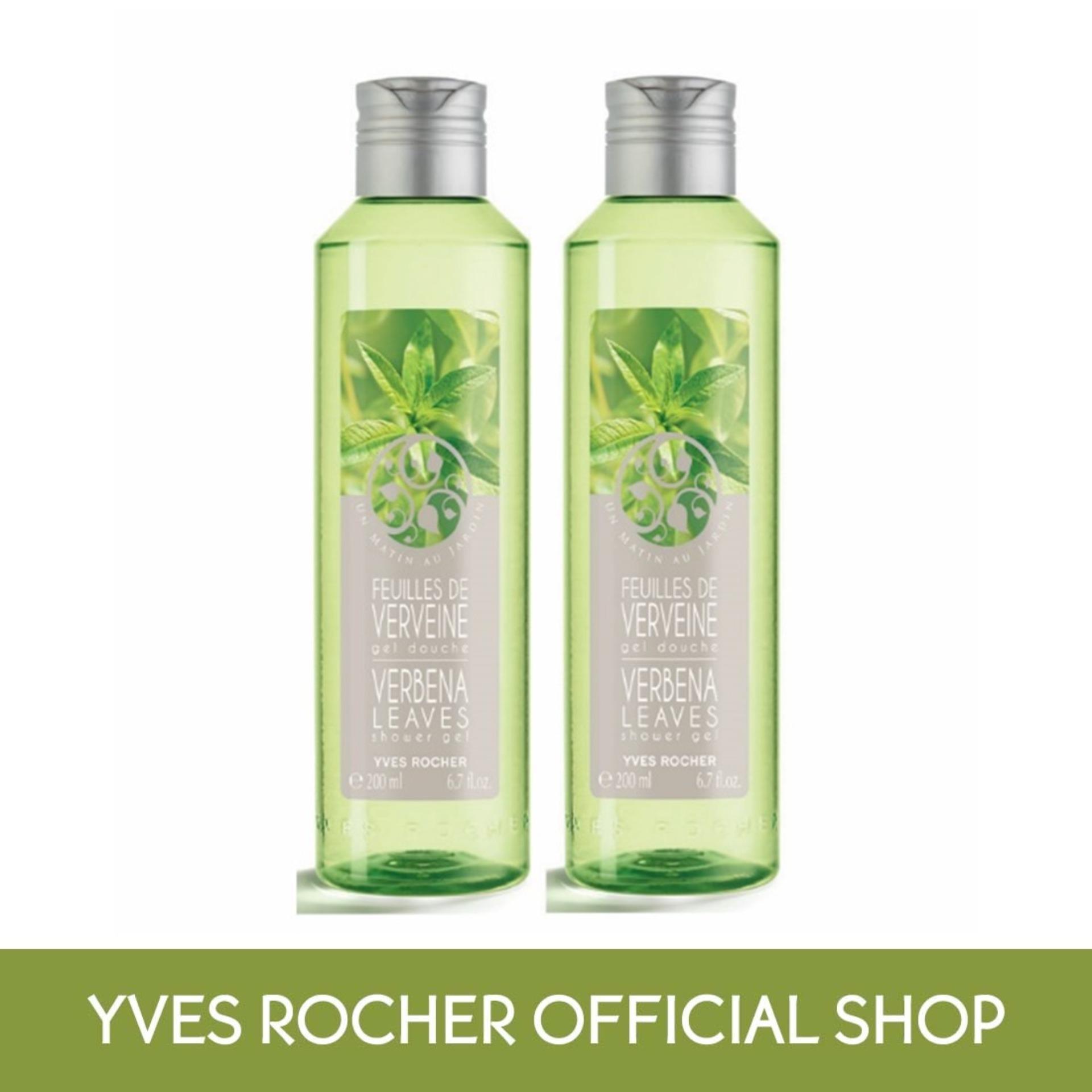 Cheapest Yves Rocher Twin Set Of Verbena Shower Gel 200Ml Online