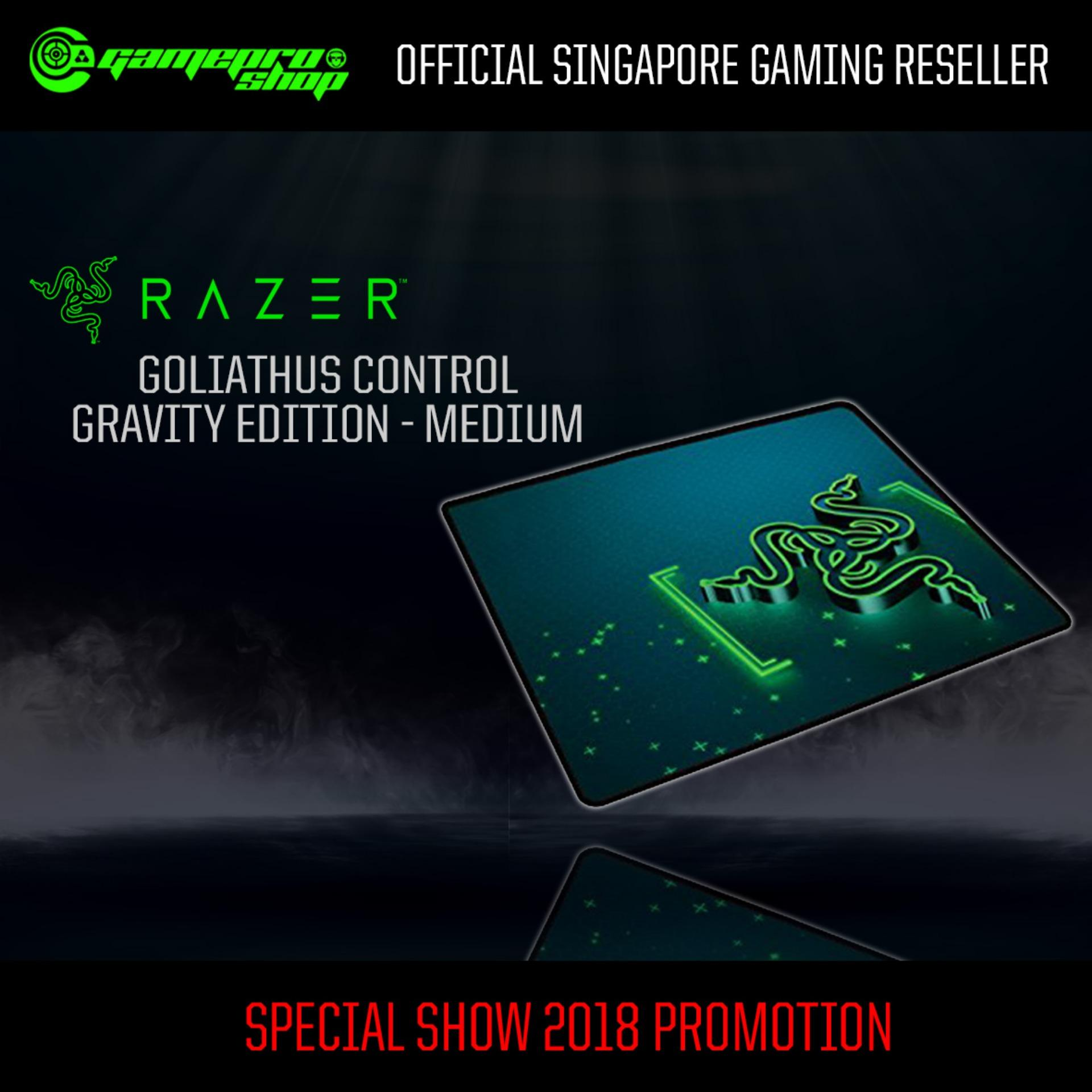 Great Deal Razer Goliathus Control Gravity Edition Medium Gss Promo
