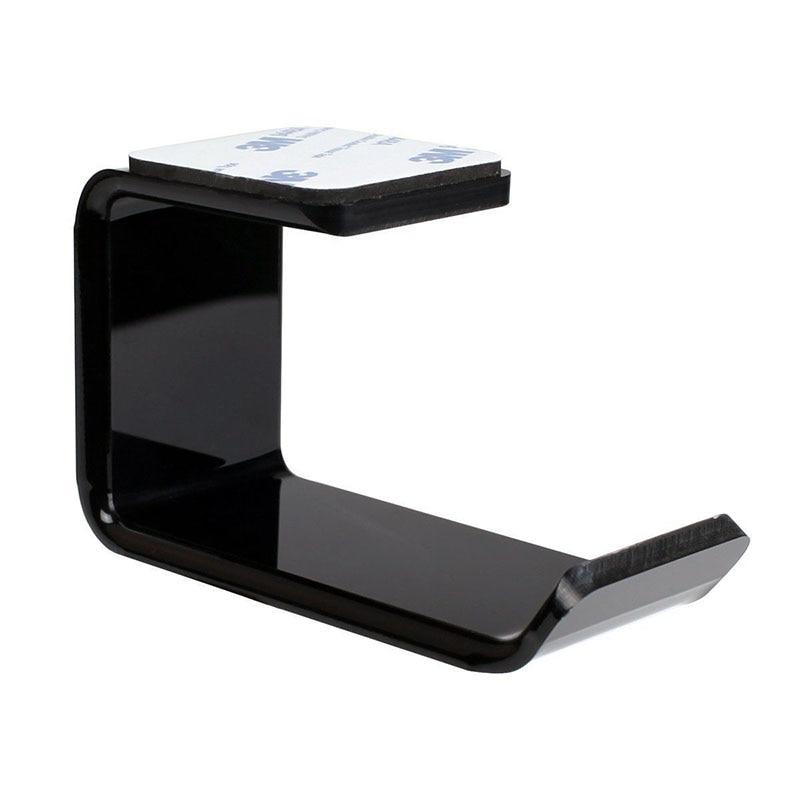 Durable Headphone Headset Holder Hanger Earphone WallDesk Display Stand Bracket Hanger Headphone Accessories (2)