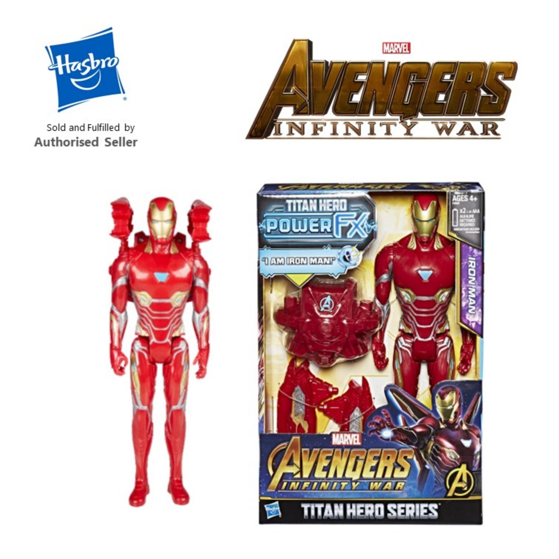 Hasbro Marvel Infinity War : Titan Hero Power FX Iron Man -E0606