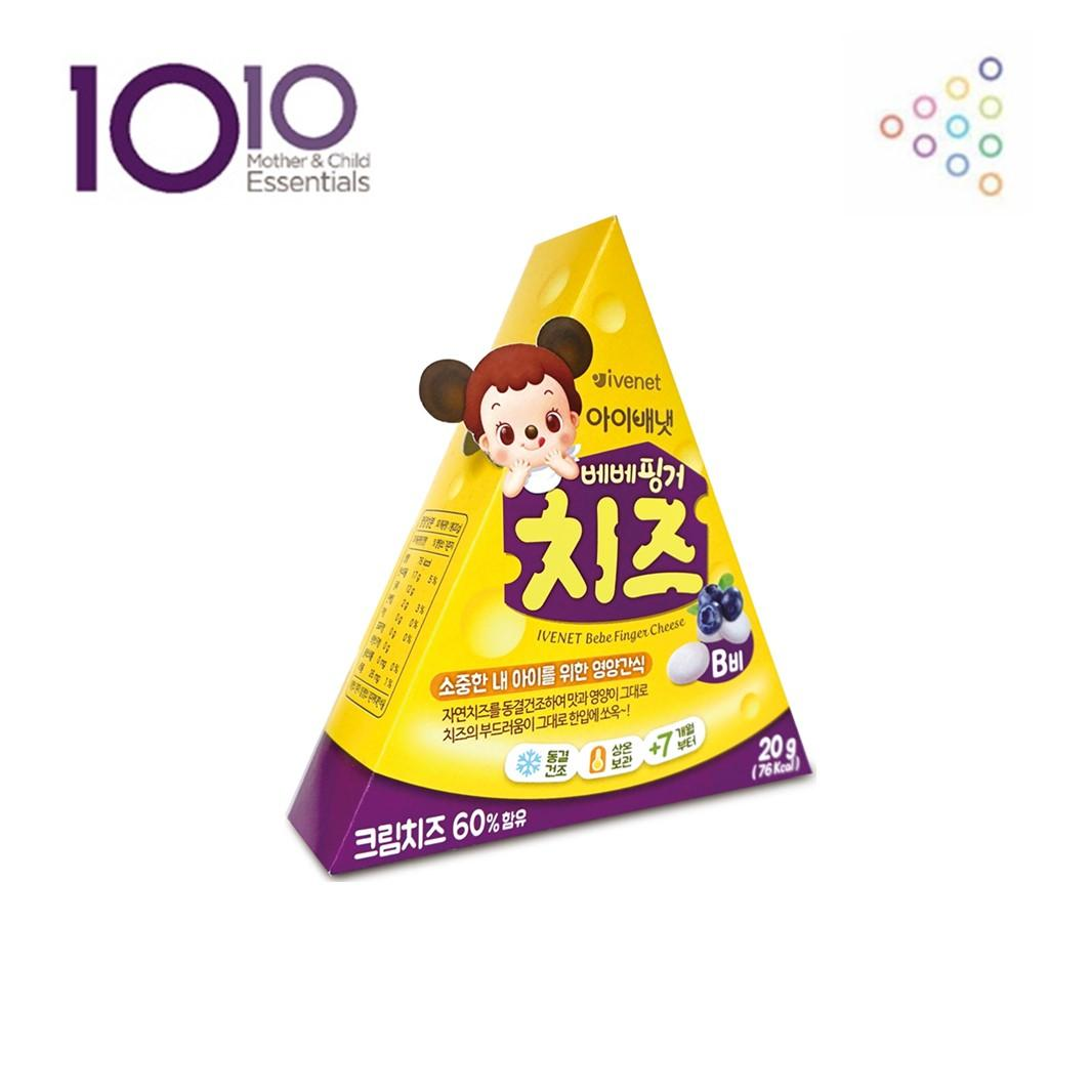 Ivenet Bebe Finger Cheese (blueberry) By 1010 Mother & Child.