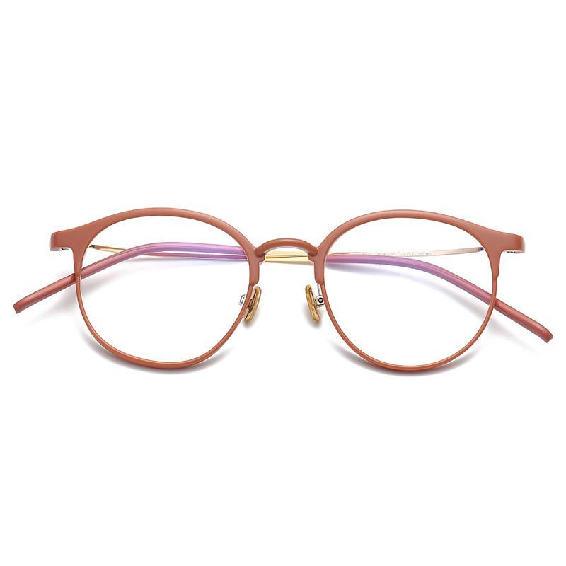 眼睛框 Bingkai Kacamata pria bingkai kacamata wanita Gaya Korea pasang produk  jadi rabun dekat Retro 533862d03d