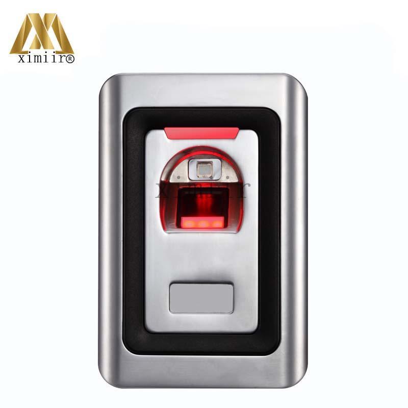 Metal Fingerprint And RFID Card Access Controller Standalone Biometric Fingerprint Door Access Control System Fingerprint Reader