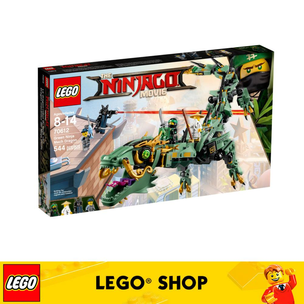 Buy Lego® Ninjago Green Ninja Mech Dragon 70612 Cheap Singapore