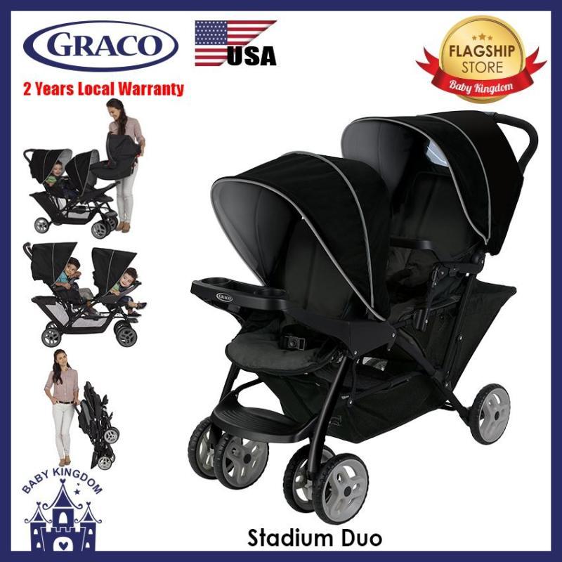 Graco Stadium Duo (Black Grey) - Local Warranty Singapore