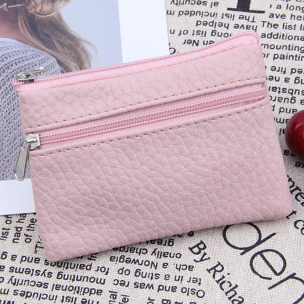 ผู้หญิงกระเป๋าสตางค์หนังสำหรับผู้ชายซิปอเนกประสงค์หนังกระเป๋าใส่เหรียญบัตรกระเป๋าสตางค์ By Cocofasion.