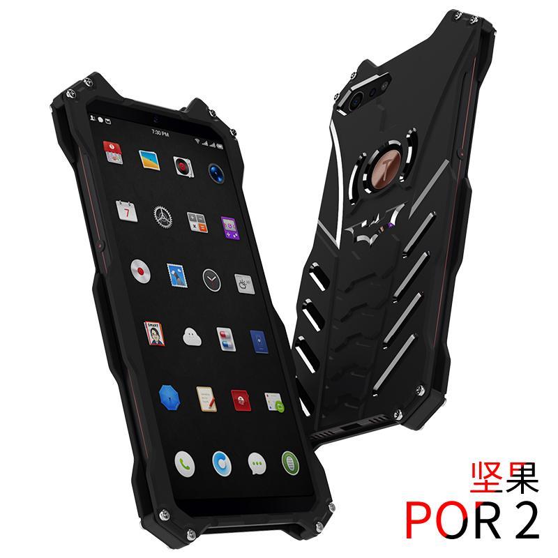 Peonia Meizu M2 Note SGP Hardcase Slim Armor - Abu-abu + Bonus Tempered Glass