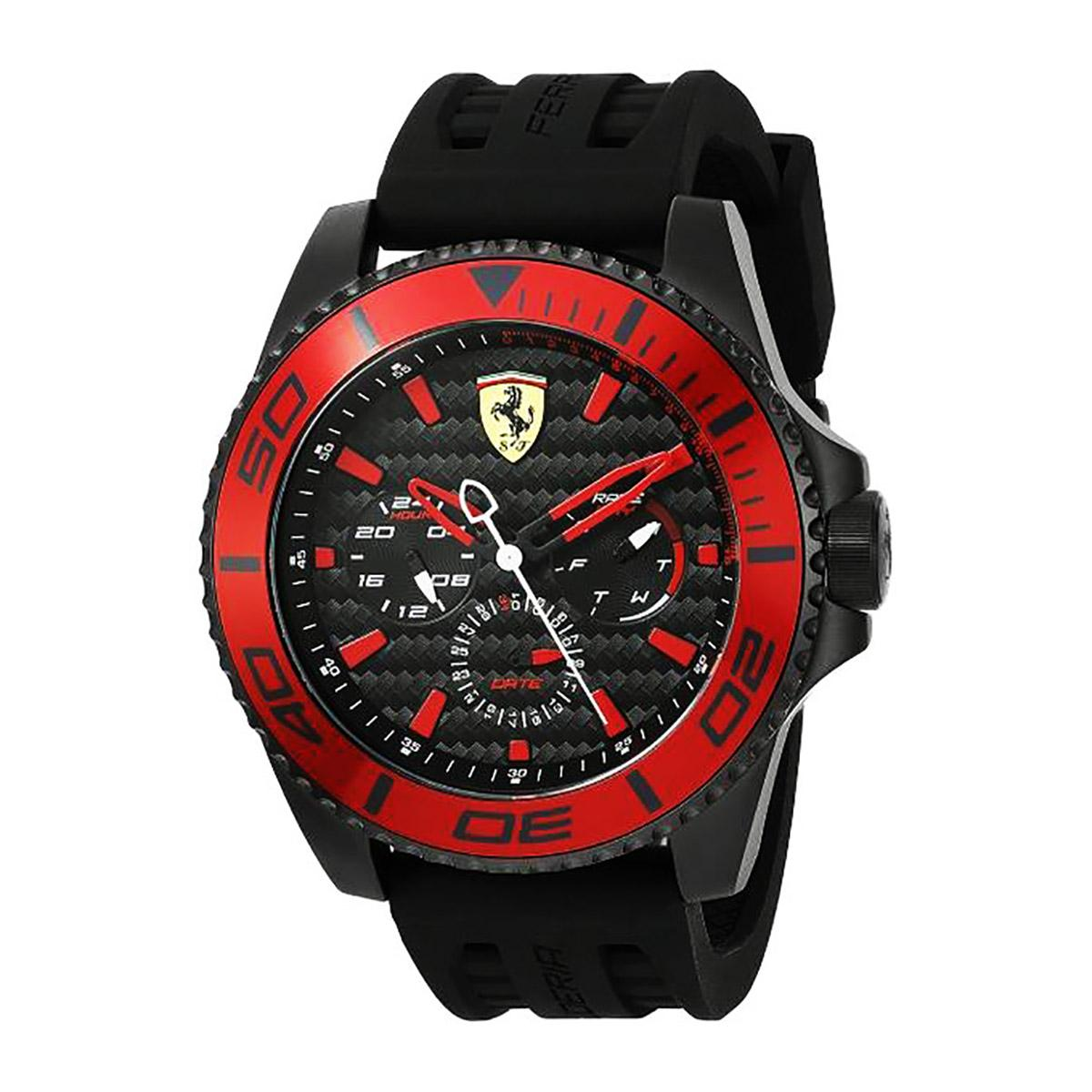 Ferrari Watch Xx Kers Black Stainless Steel Case Polyurethane Bracelet Mens 0830310 Coupon