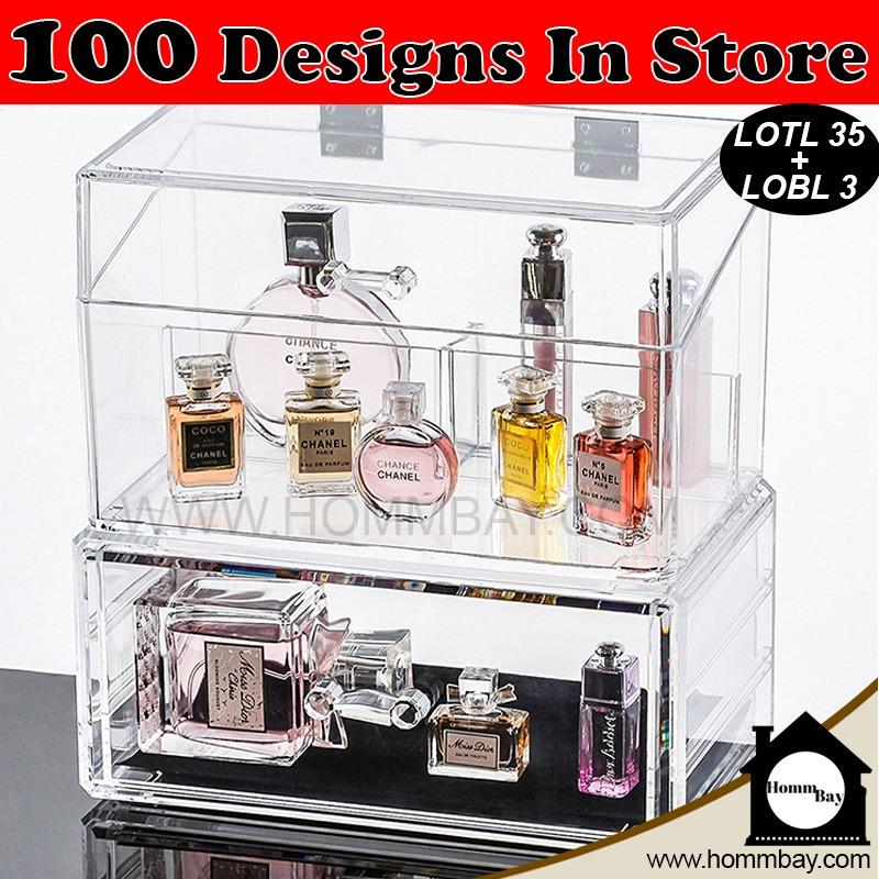 Clear Acrylic Transparent Make Up Makeup Cosmetic Jewellery Jewelry Organiser Organizer Drawer Storage Box Holder I Large I Stackable I Lotl 35 Lobl 3 Coupon Code