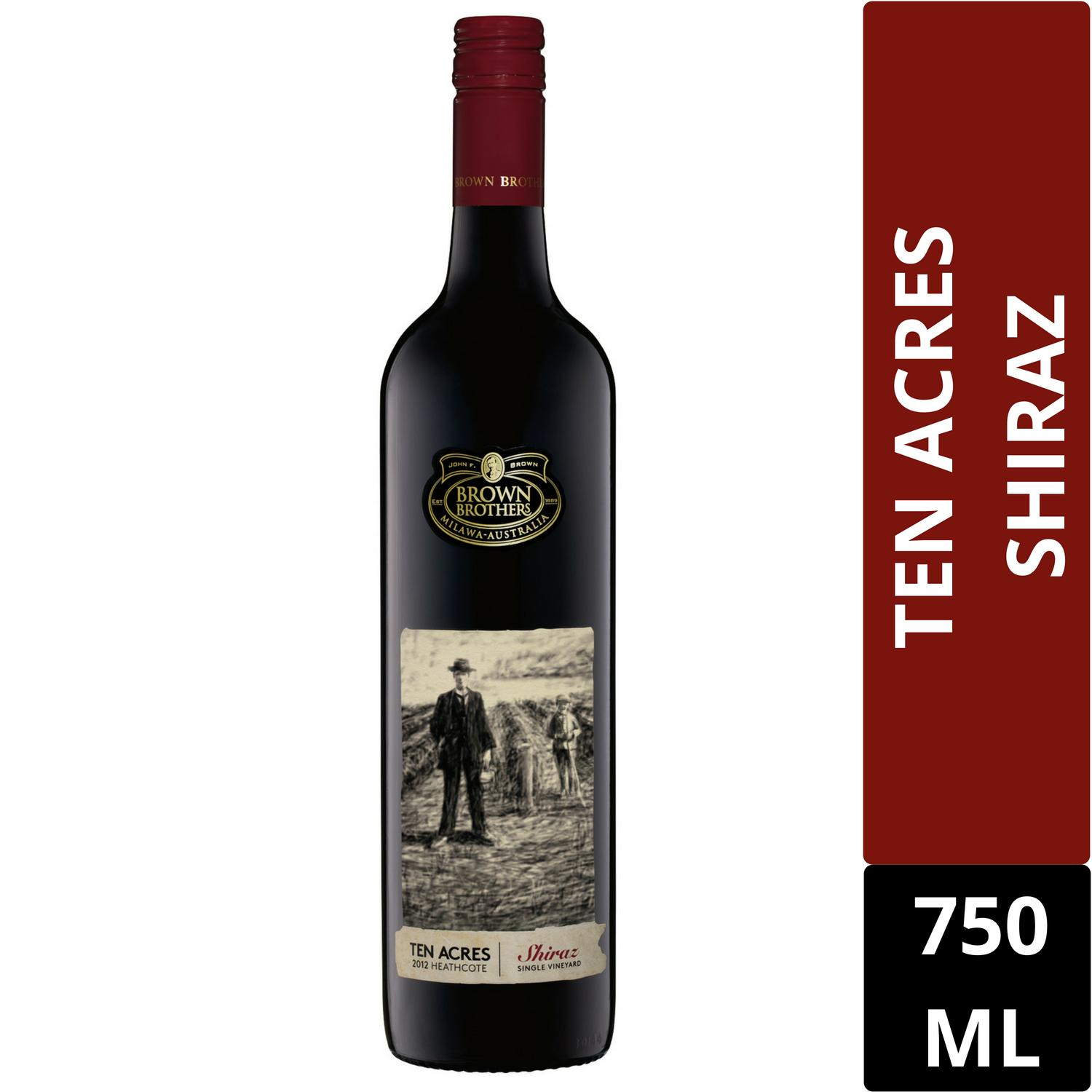 Price Brown Brothers Ten Acres Shiraz 750Ml Brown Brothers Online