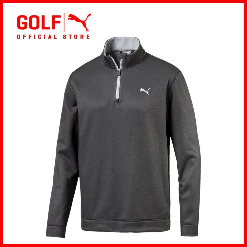 Puma Golf Men Disruptive 1 4 Zip Puma Black Quarry Lowest Price