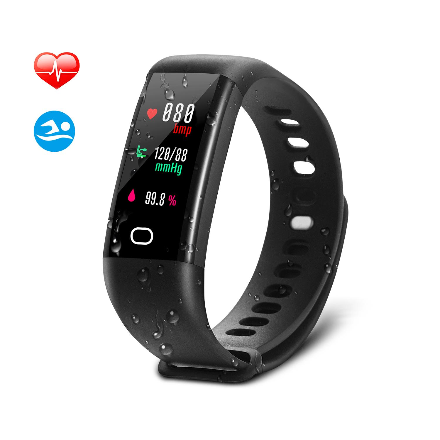 drillpro step remote watches fitness control tracker pin wireless consumption calls sms activity hr oled counter camera calorie