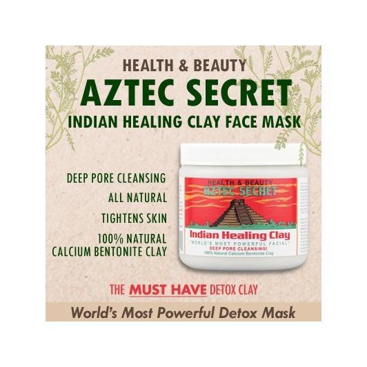 Aztec Secret Indian Healing Clay Deep Pore Cleansing 1Lb 454 G Singapore