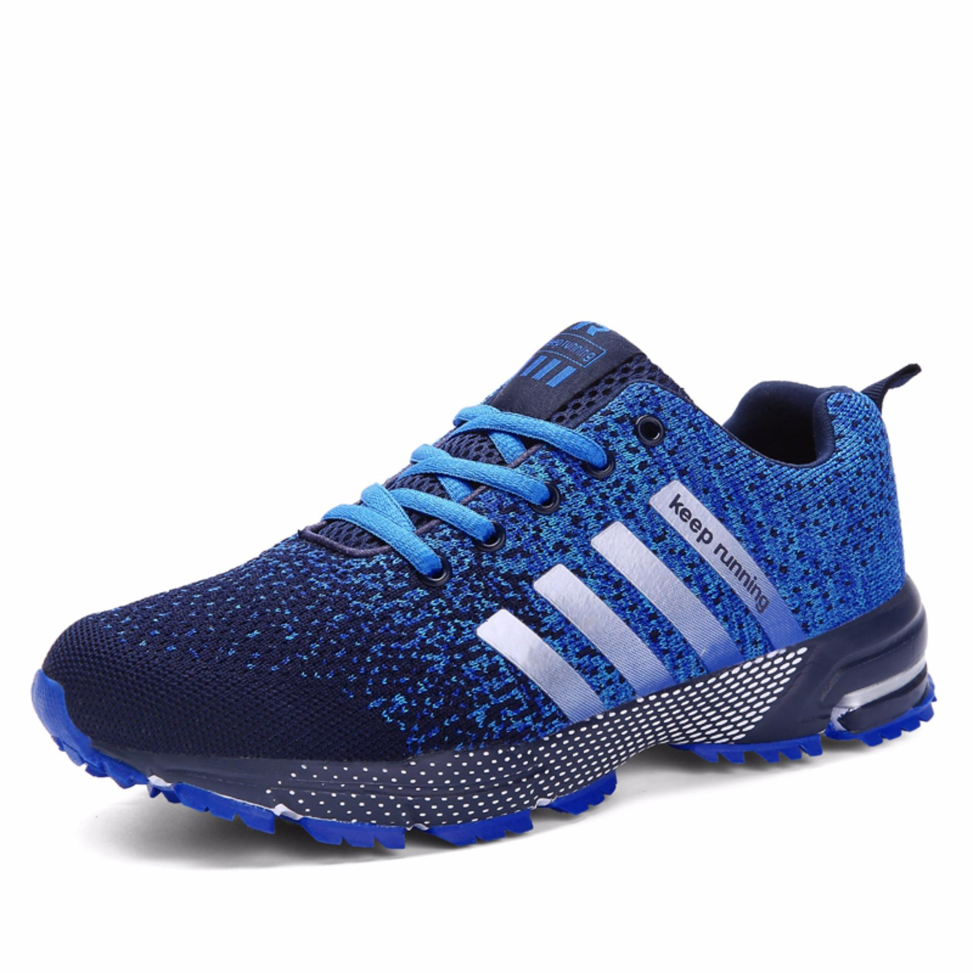 Buy Men Fashion Sneakers Casual Running Sports Shoes Blue Intl Oem Original