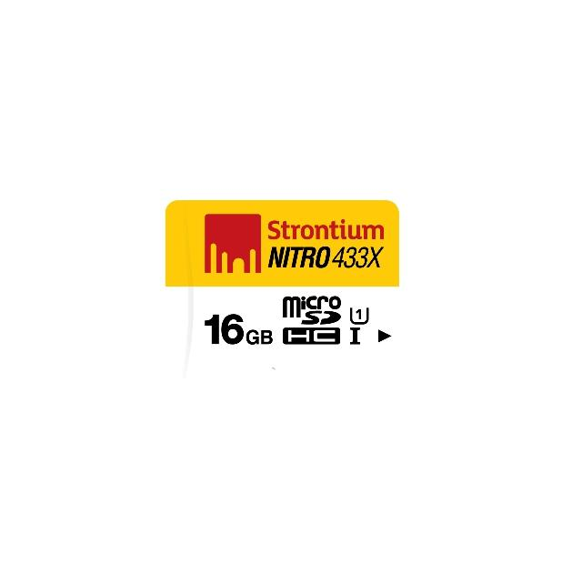 Lowest Price Strontium Nitro 16Gb 433X 65Mb S Uhs 1 Retail Card Only
