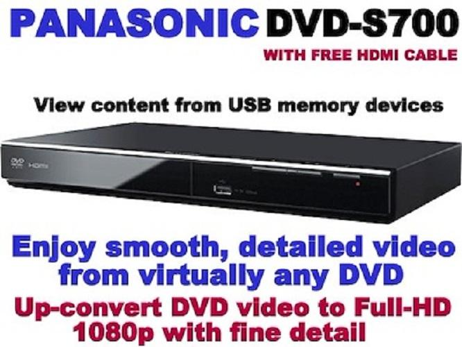 Panasonic DVD PLAYER DVDS700EP