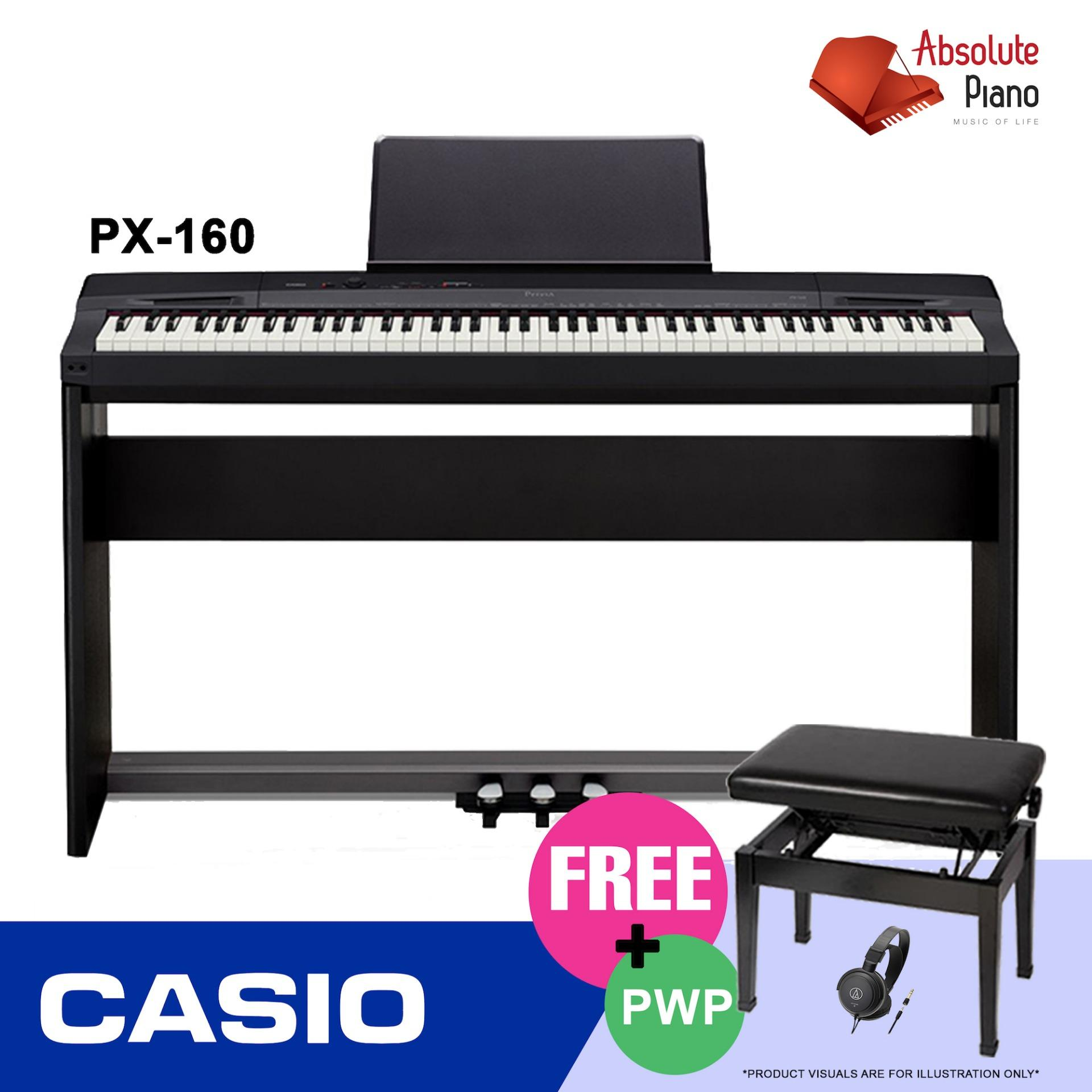 Who Sells Casio Privia Digital Piano Px 160 Black With Piano Bench The Cheapest